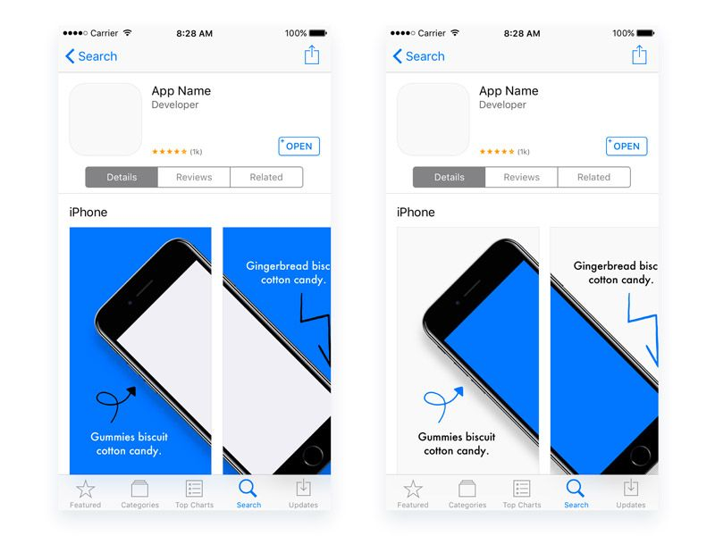 App Store Preview Templates App App Store Templates