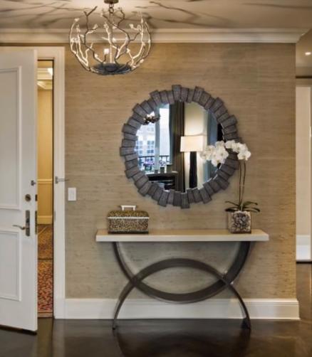 ديكورات مداخل للشقق الصغيرة افكار مهمة لتزيين مداخل المنازل Foyer Decorating Entryway Wall Decor Hall Wall Decor