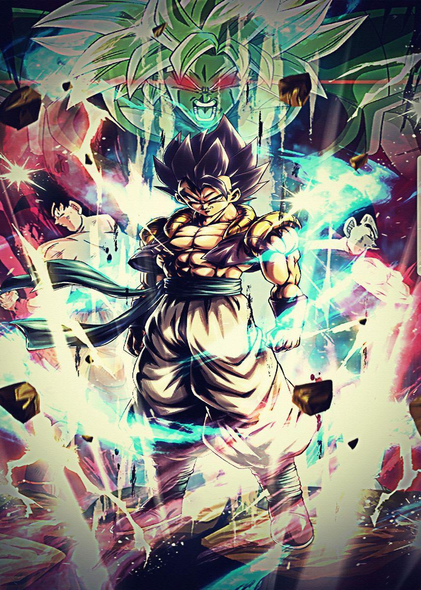 'Dragon Ball Z Super Dbz ' Poster by RebeccaKertzmann | Displate