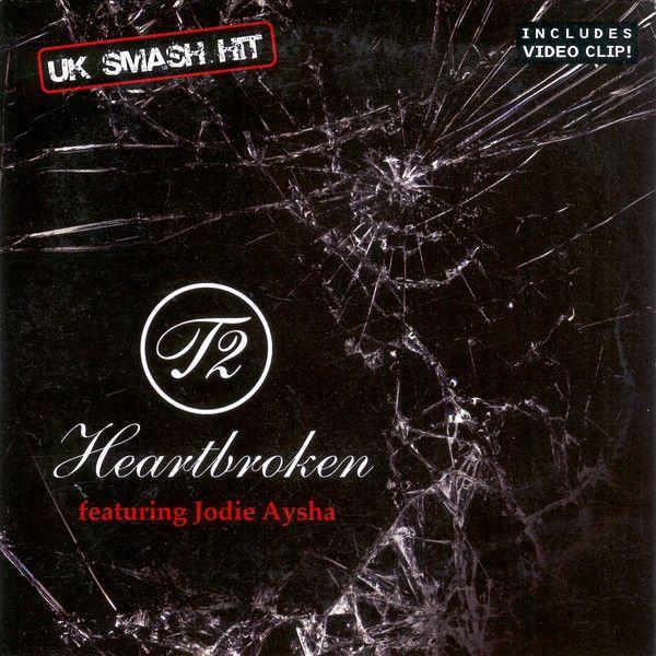 T2, Jodie Aysha – Heartbroken (single cover art)