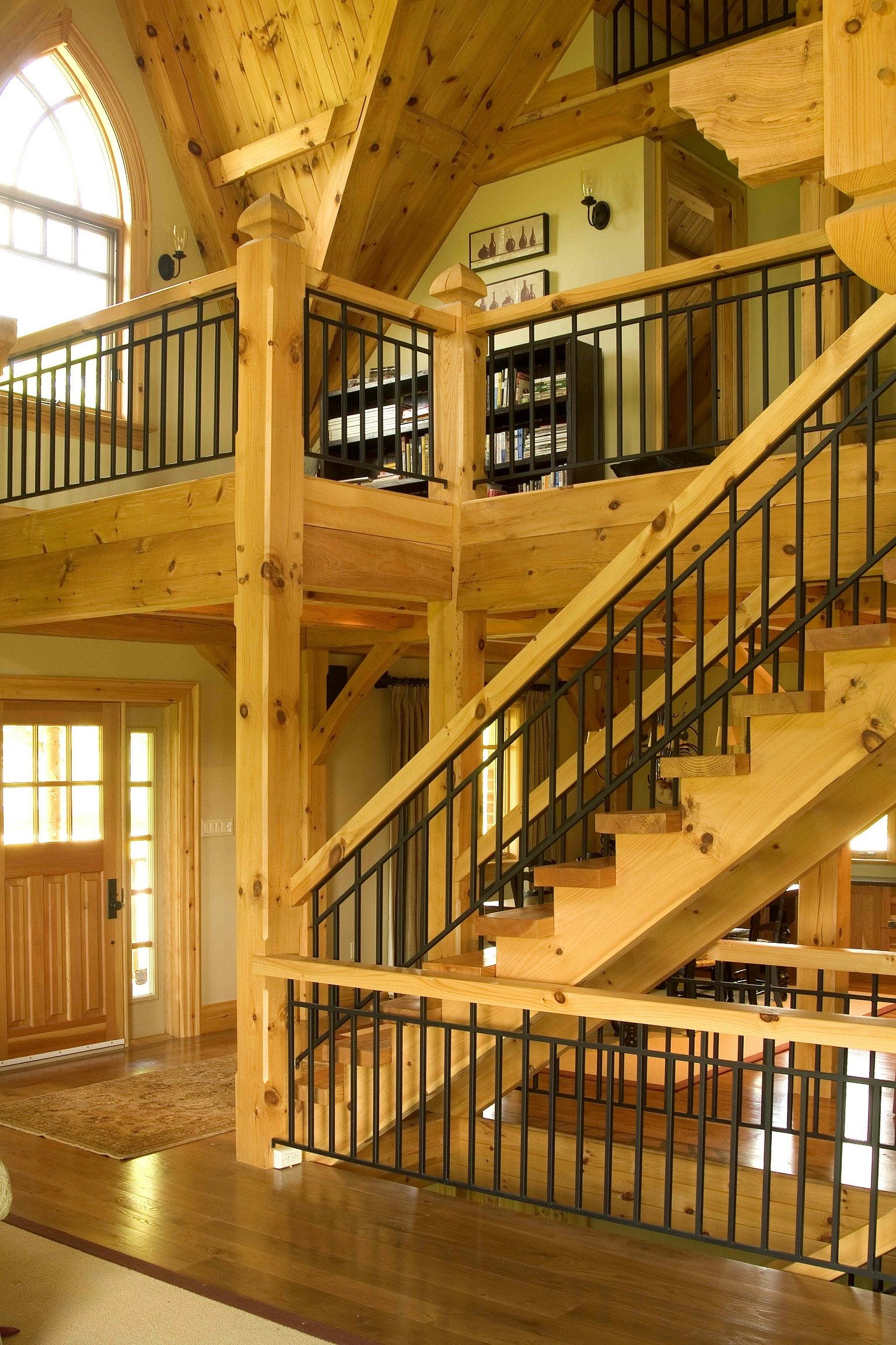 Best Railing Timber Stair Stairs 640 x 480