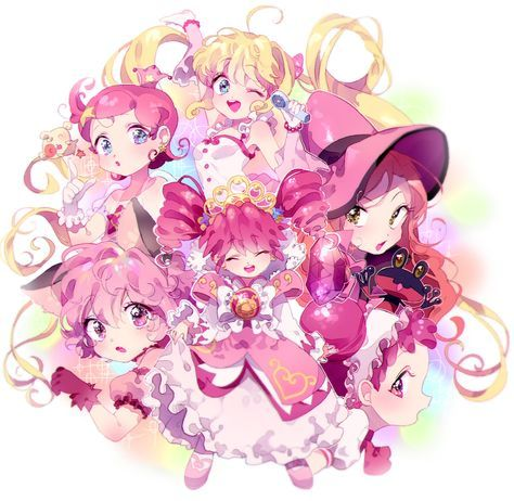 Inhye, Princess Comet, Mermaid Melody Pichi Pichi Pitch, Sugar Sugar Rune, Tokyo Mew Mew, Ojamajo DoReMi