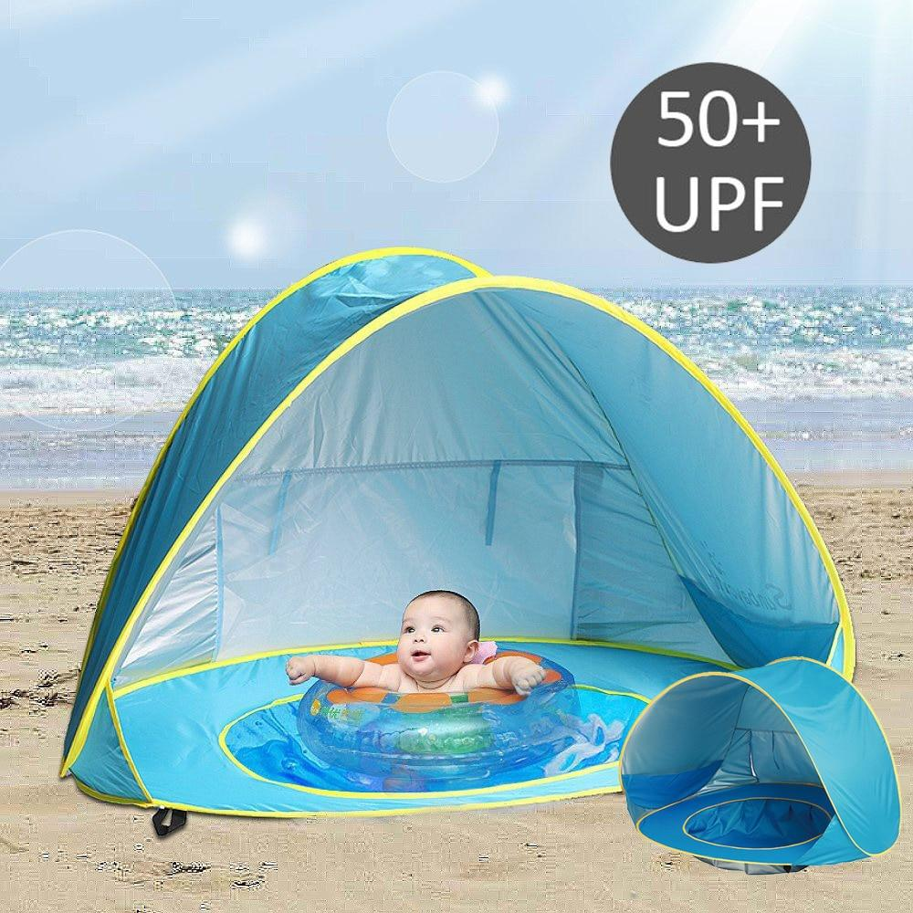 Summer Baby Beach Tent UV protecting Sunshelter with Pool
