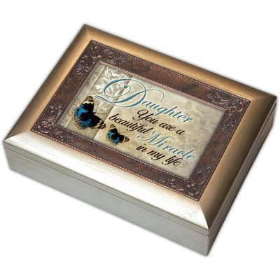 Cottage Garden Digital Daughter Music Jewelry Box Song I Hope You