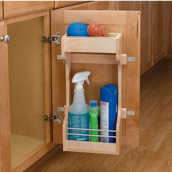 Store Cleaning Supplies In A Convenient Spot Under The Sink With