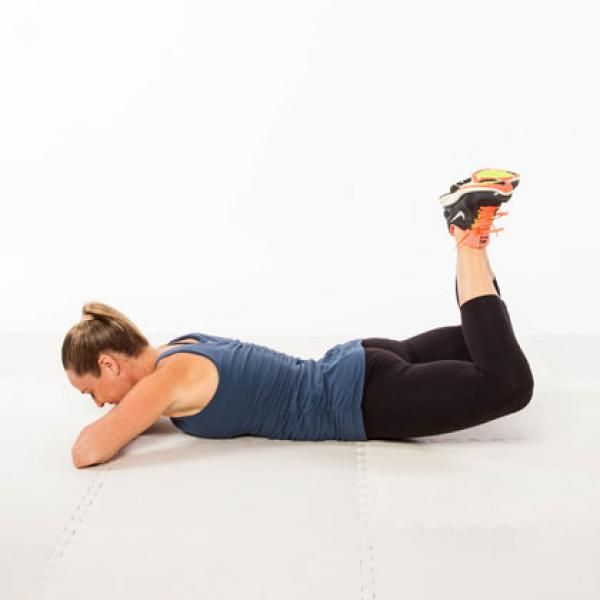 Heel Press - The Best Lower-Body Exercises for a Knee Injury - Shape Magazine
