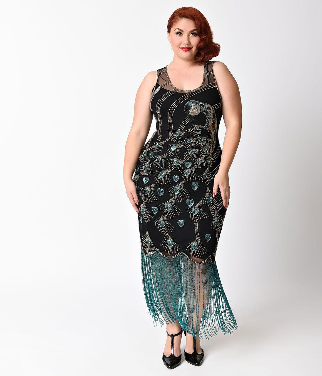 Plus Size Vintage Dresses, Plus Size Retro Dresses   Plus ...