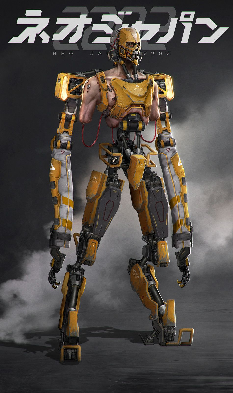 Neo Japan 2202 - Borei, Johnson Ting on ArtStation at https://www.artstation.com/artwork/d9DPe