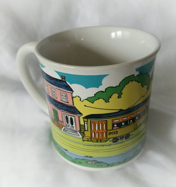 Check out this item in my Etsy shop https://www.etsy.com/listing/278801650/vintage-st-charles-streetcar-coffee-mug