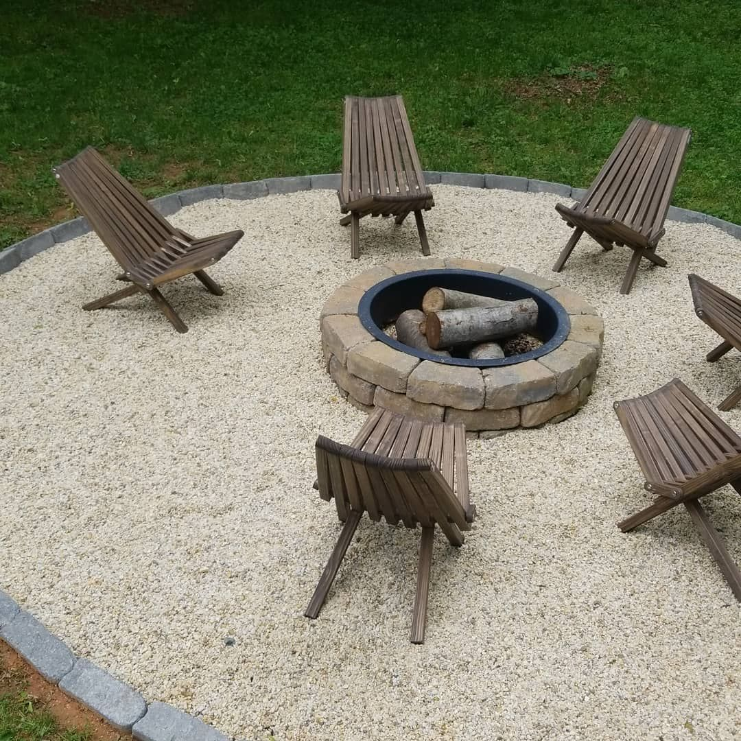 Photo of How to Build a DIY Fire Pit With Gravel, Stones, and Walkway