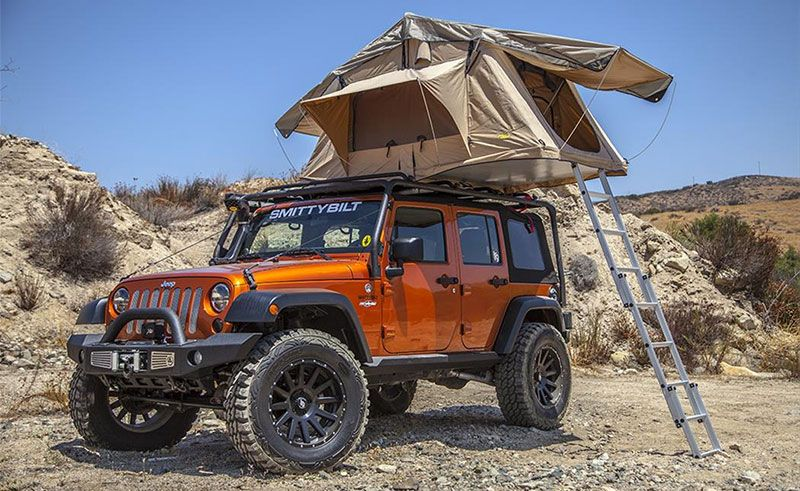 Jeep Roof Rack Tent Smittybilt & Jeep Roof Rack Tent Smittybilt | Cool Camping Gear | Pinterest ...