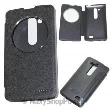 NILLKIN CUSTODIA FLIP BOOK LIBRO OBLO SPARKLE LEATHER CASE LG L FINO BLACK NERO NEW NUOVA -SU SWWW.MAXYSHOPPOWER.COM