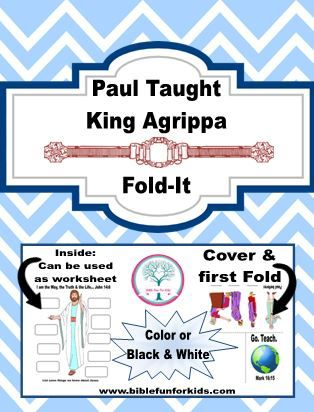 Paul Before Festus And King Agrippa Bible Lessons Bible