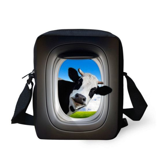 Brand Fashion Women Messenger Bags High Quality Crazy Horse Shoulder Bag Small Children GIrls Crossbody Bag Travel Messenger Bag
