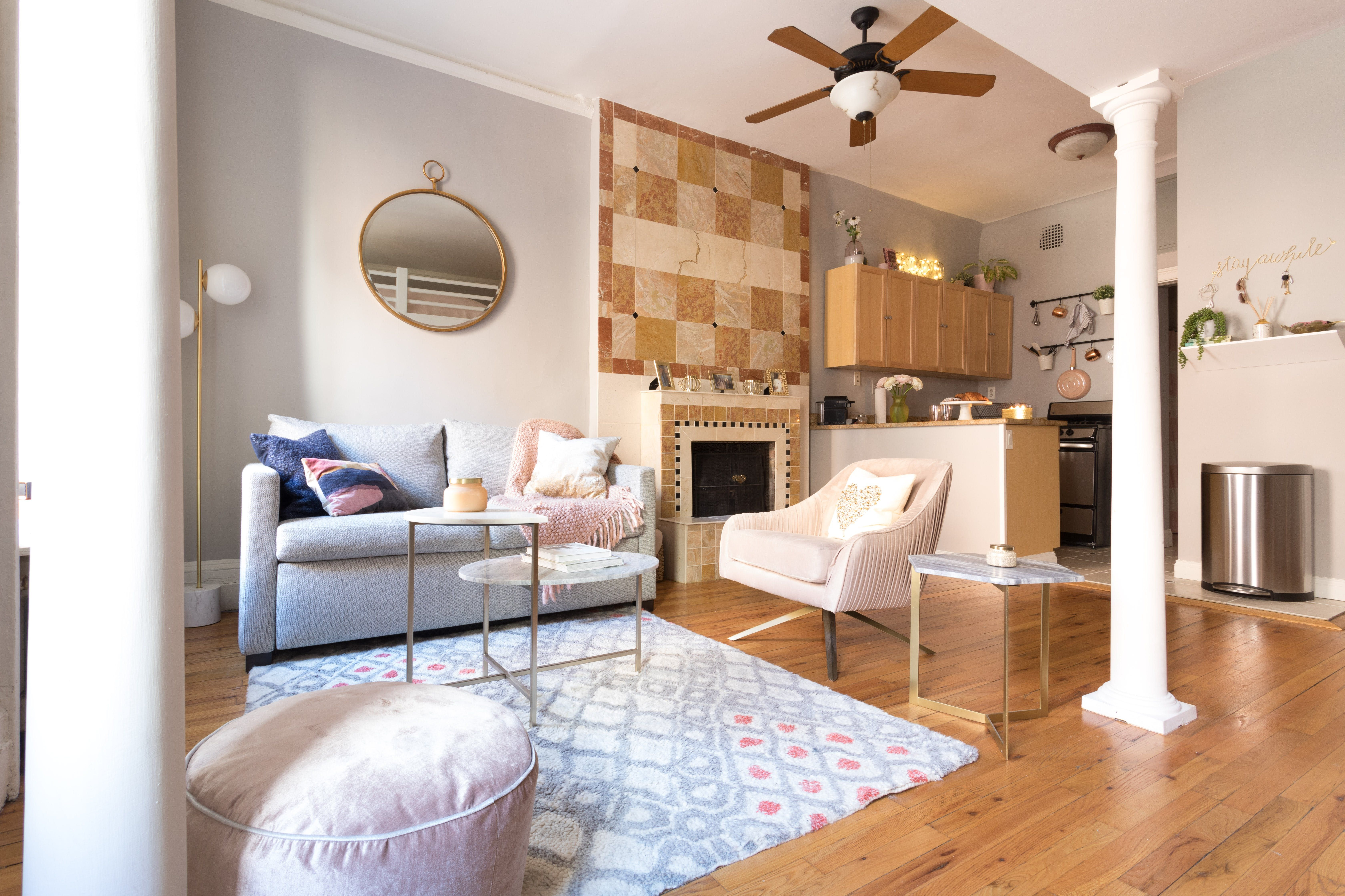 A 325 Square Foot Nyc Studio Is Cute And Sophisticated Apartment