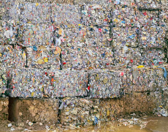 Trash Cube Pile Landfill Isle Of Dogs Landfill Perspective Art
