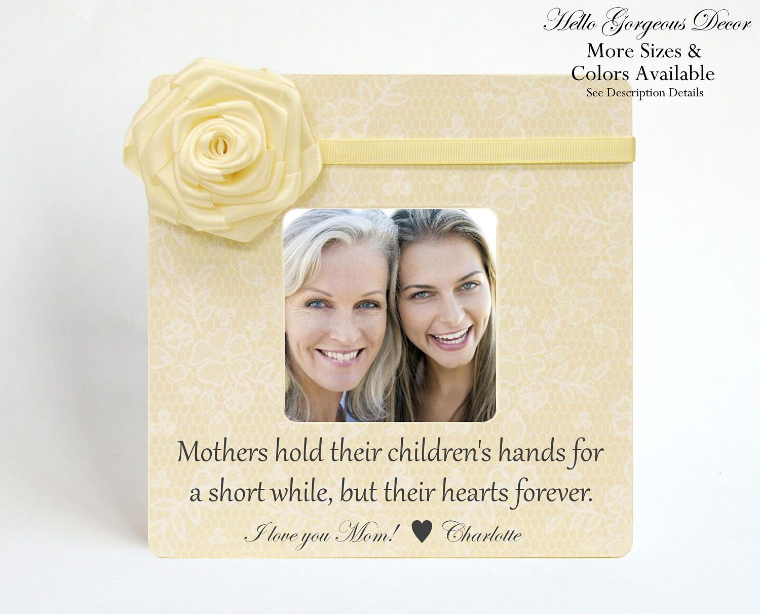 Mother\'s Day Gift to Mom Picture Frame Personalized Gift from ...