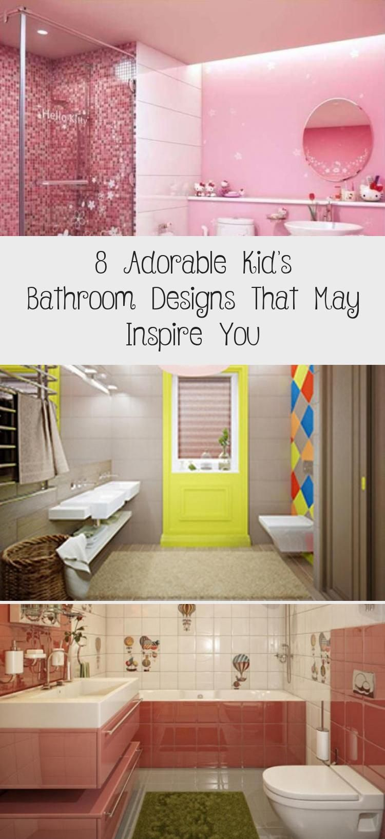8 Adorable Kid S Bathroom Designs That