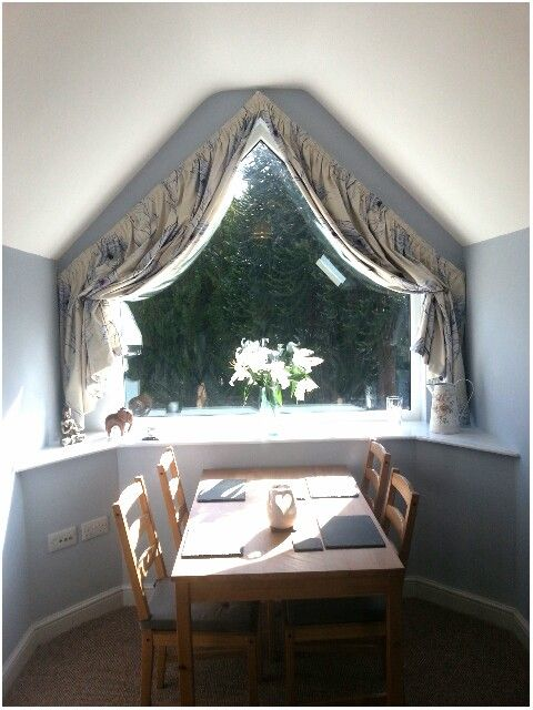 Triangular Attic Window Feather Fabric Attic Rooms Curtains Cool Curtains