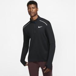 Photo of Nike 3.0 Men's Half Zip Running Top – Black Nike