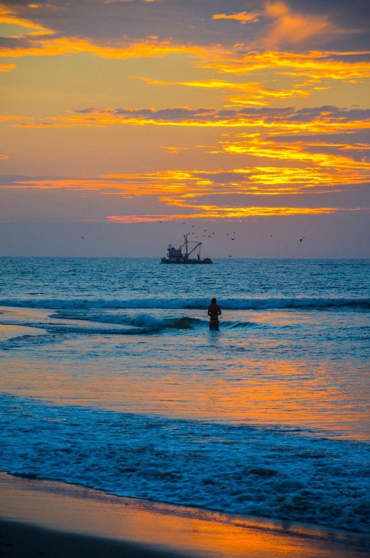 Mancora Beach Sunset, Perú