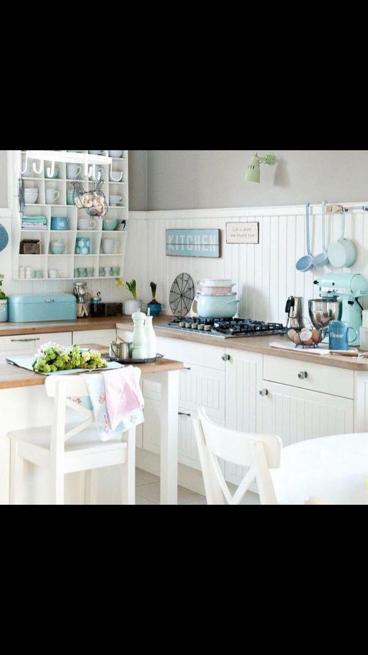 Idee cucina Shabby chic | Arredi per la mia casa #shabbychic ...