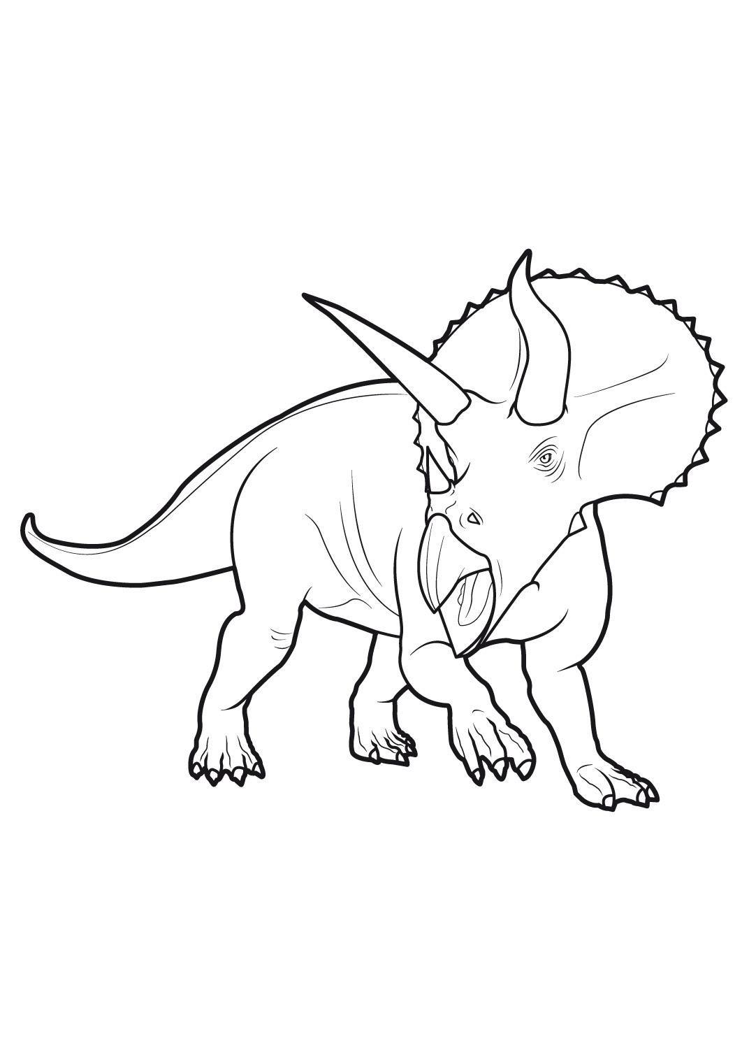Coloriage De Dinosaure King A Colorier 1001 Animaux 70 90