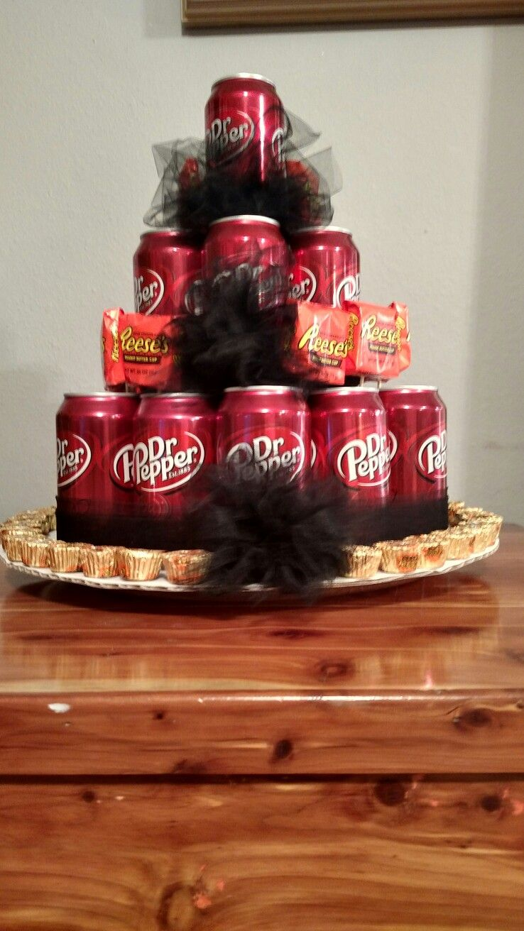 Dr Pepper Soda Can Cake Random Pinterest Birthday Cake In A