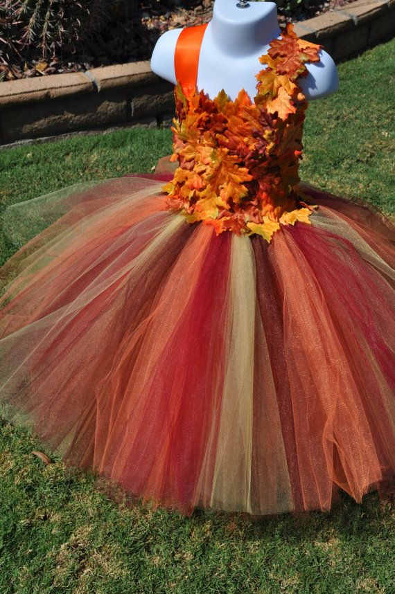 5c01c07ed Fall Inspired Flower Girl Dress