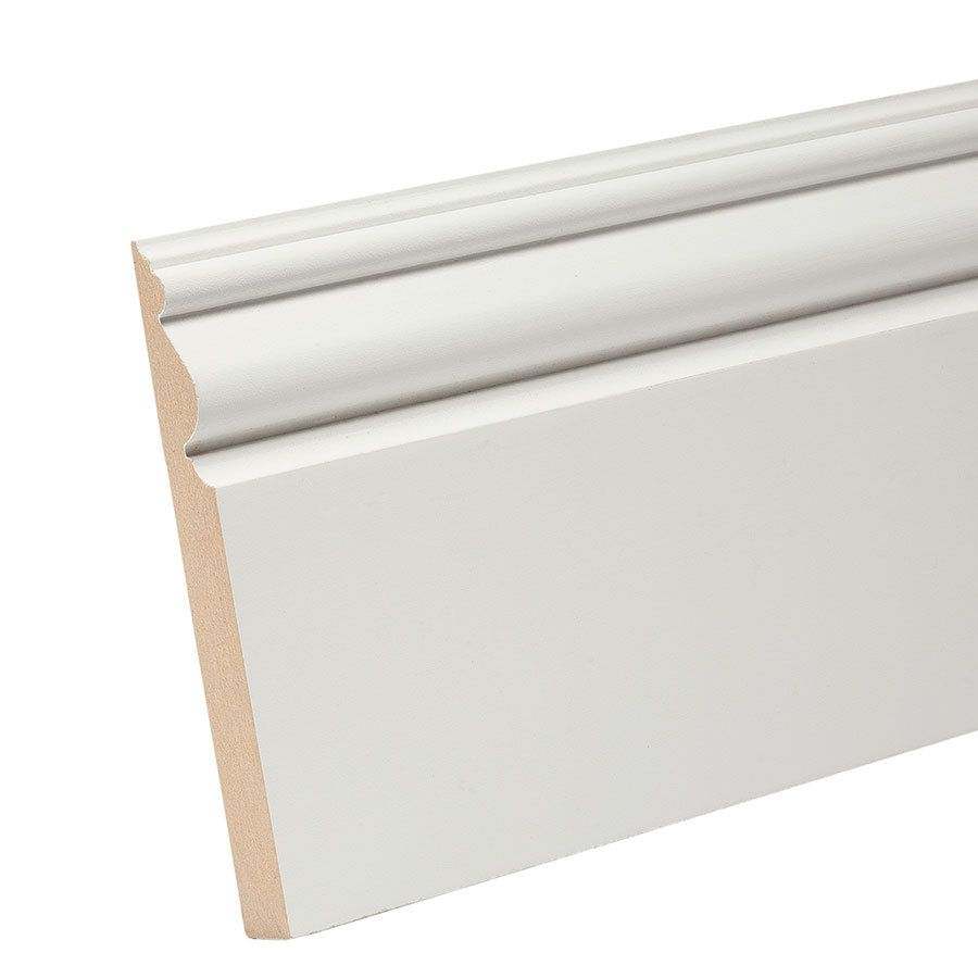 Shop Evertrue 4 5 In X 8 Ft Interior Composite Baseboard At Lowes