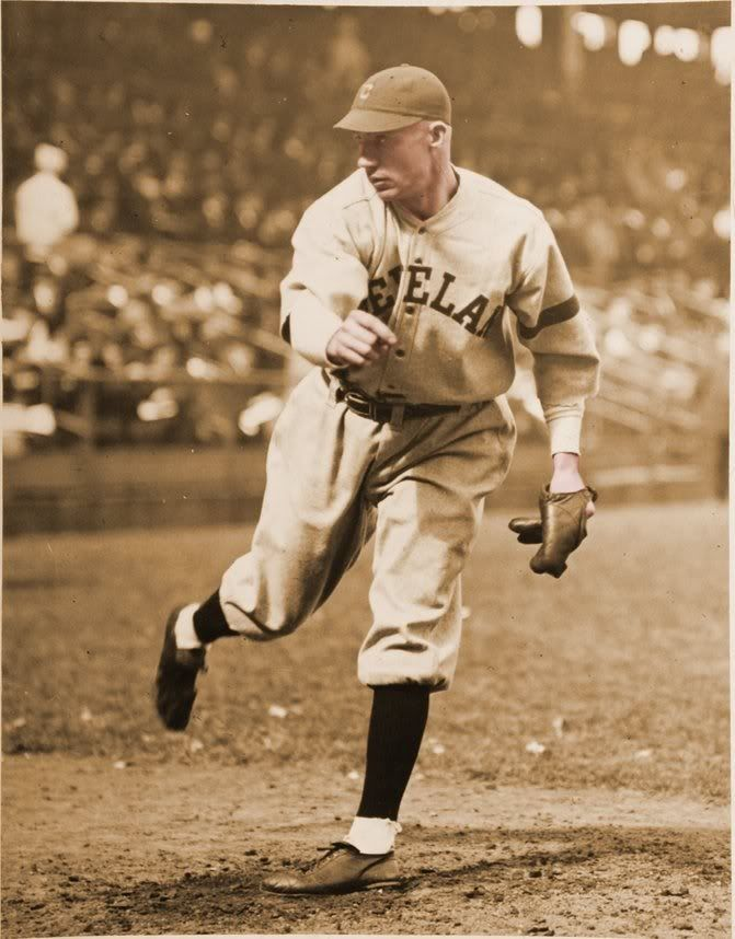 Winning Pitcher Deciding Game World Series 1920 Stan Coveleski Cleveland Indians Cleveland Indians Baseball Indians Baseball Youth Baseball Gloves