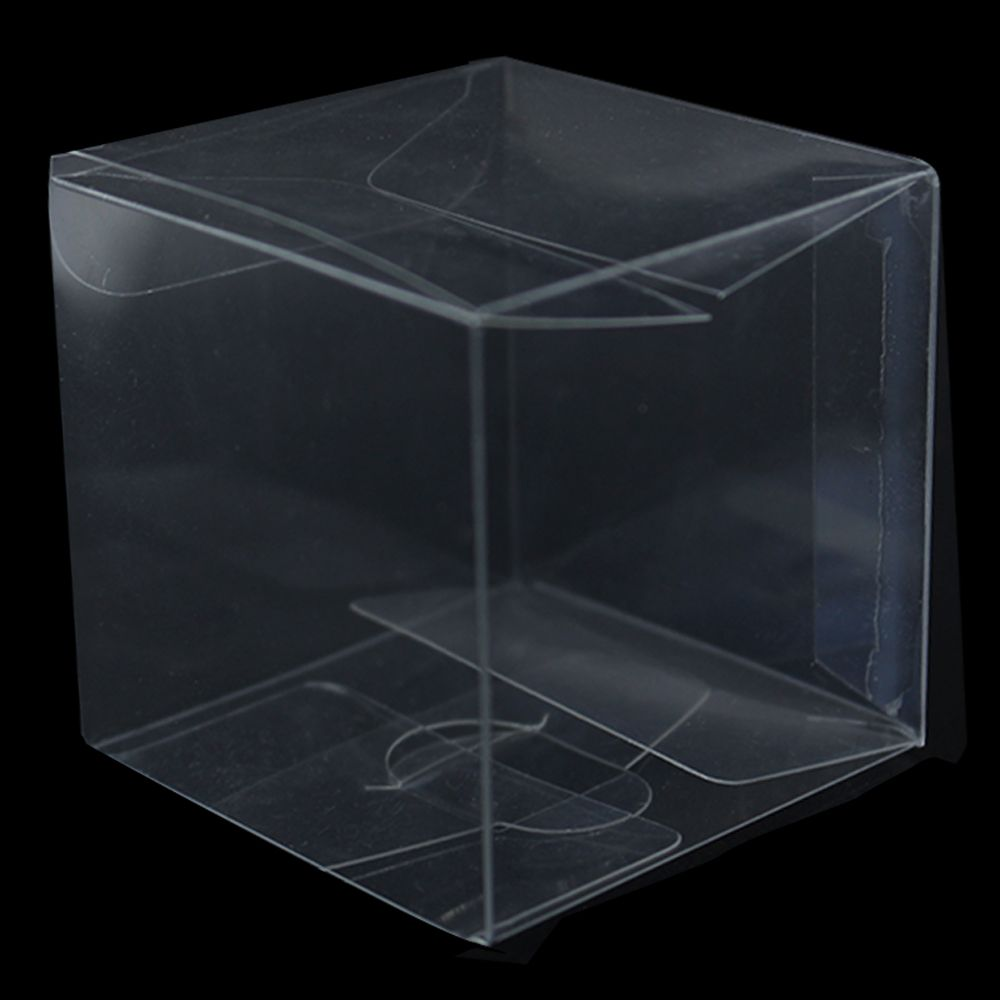 Clear Plastic Jewelry Pack Boxes Diy Small Gift Pvc Transparent