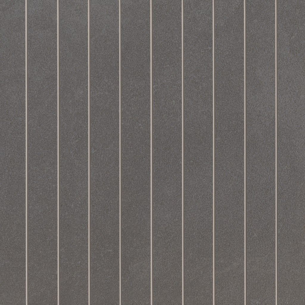 Feature Tile 01 Horizontal Lines Exile Charcoal Lappato