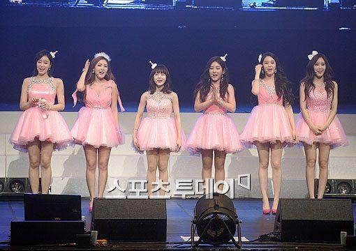 [포토]티아라, 아름다운 핑크 공주들 - 스투닷컴