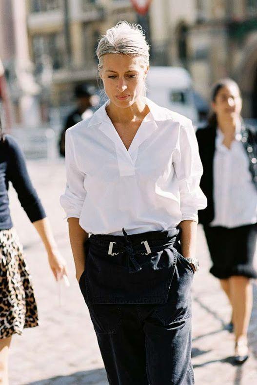 Sarah Harris, British Vogue Editor in Fashion Insp