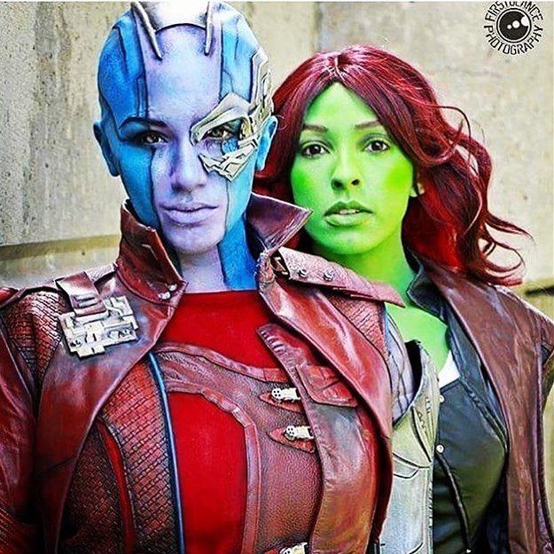 Cosplay Model & Artist Kay Pikes Amazing Body Painting