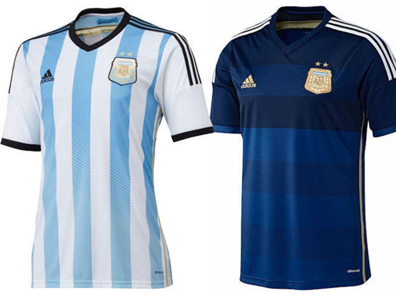 592bc896e00 Éstos son uniformes para el equipo de Argentina | Argentina y Los ...