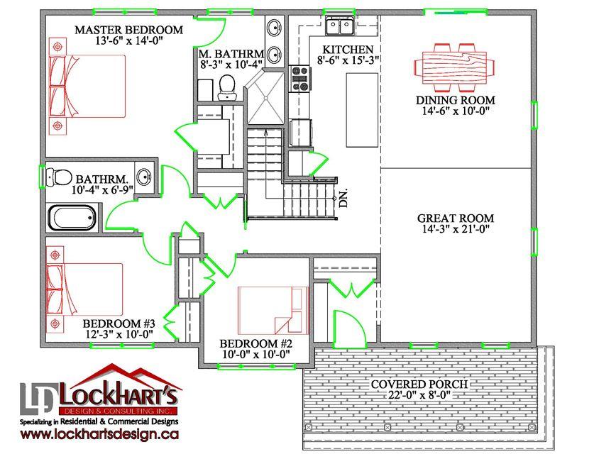 Digby Ground Floor Plan Ground floor plan, Roof plan