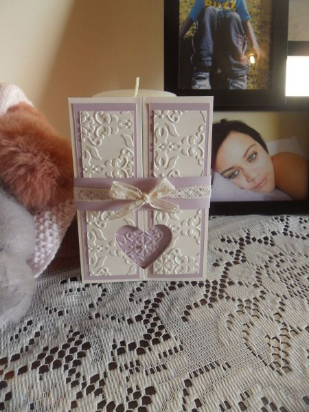 fancy fold and heart card - Tia Routledge