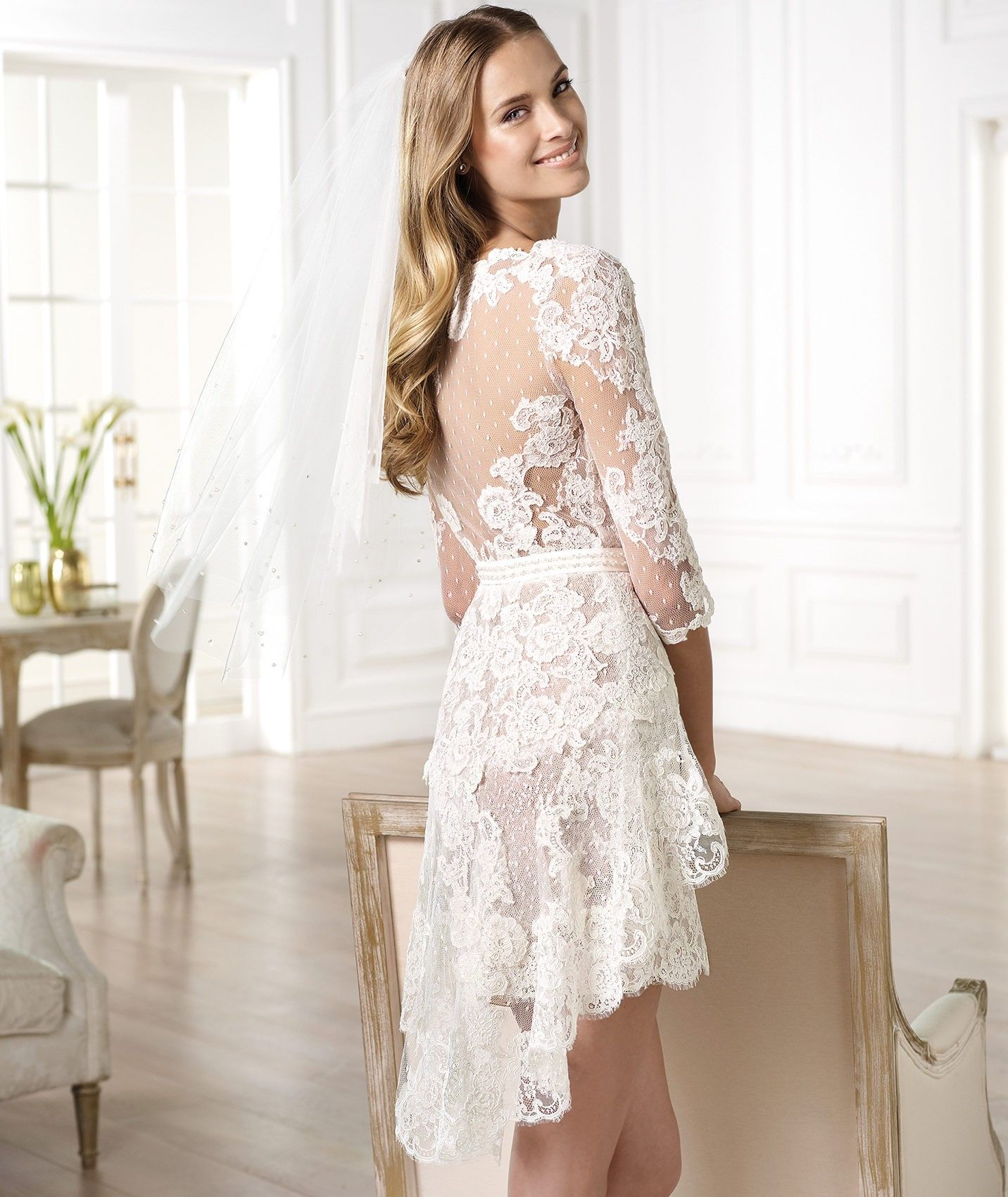 Short Wedding Dresses Make Your Looks More Beautiful Fashdea