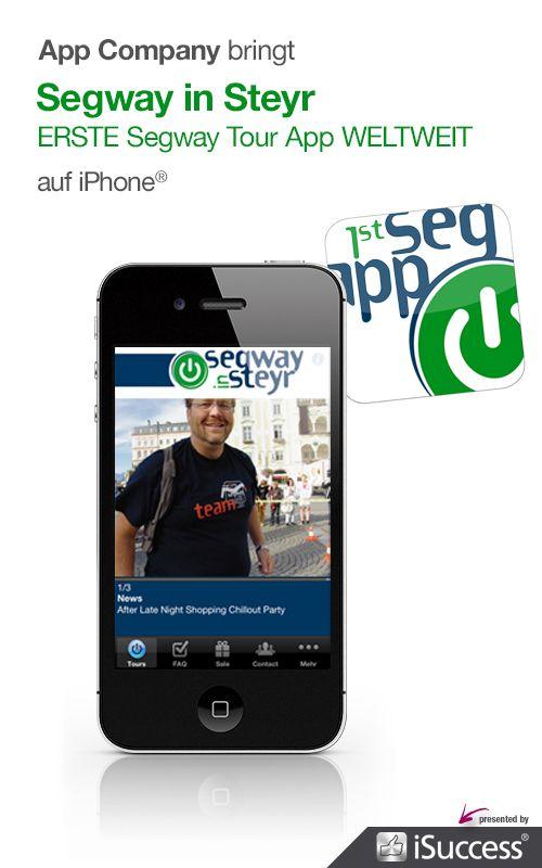 Segway in Steyr App: App Company Oberösterreich - die Appagentur aus Linz - bringt Segway in Steyr - ERSTE Segway Tour App WELTWEIT - auf das iPhone®