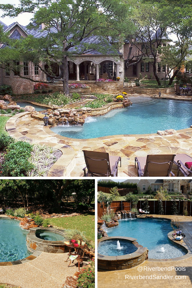 Beautiful free form pool landscaping ideas - I want one ... on Outdoor Living Companies Near Me id=86020