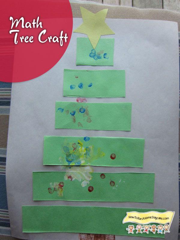 Christmas Tree Craft-Math Activity   Pinterest   Tree crafts, Math ...