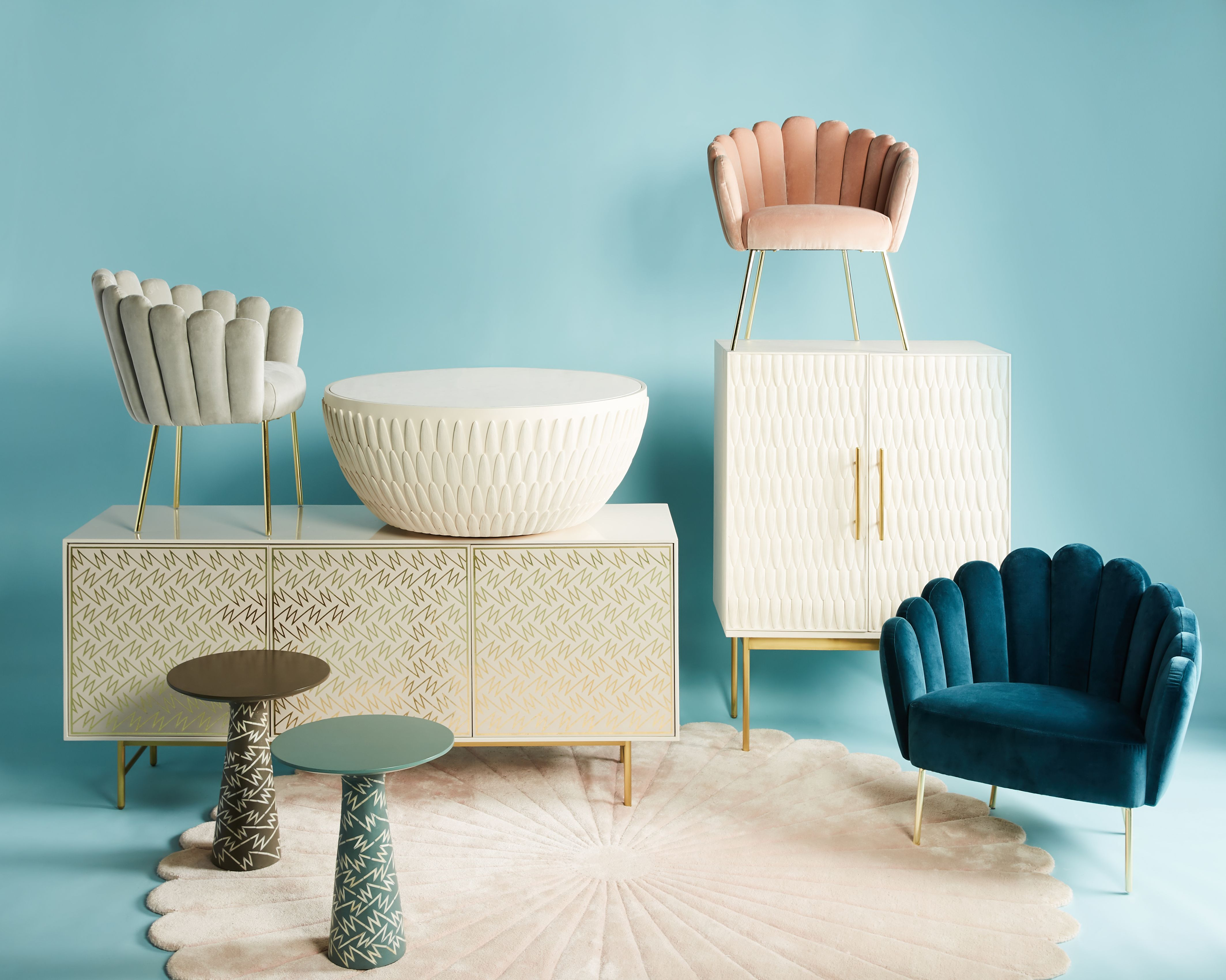 Anthroplogie S Latest Collab Has Us Ready To Get Cozy For Fall Grey Home Decor Furniture Interior