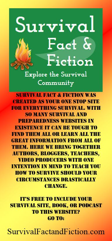 #survival #authors #bloggers suppliers #podcast producers are flocking to this new survival site. Join the community and make your book, service, blog, you-tube channel, or store easy for survival enthusiasts to find!