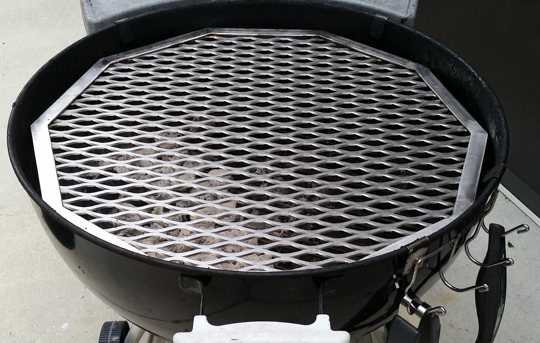Custom Made Bbq Grates Expanded Metal Stainless Steel Grate