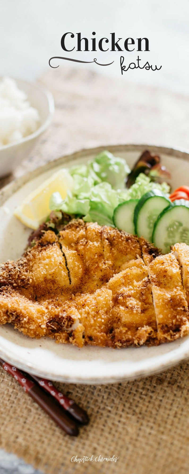 Chicken katsu food and drink pinterest poultry dinners and chicken katsu japanese dishesjapanese foodjapanese cuisinejapanese sweetdinner entreesdinner recipesaustralian forumfinder Images