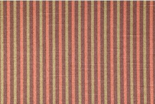 Robert Allen Rich Lines Stripe Printed Poly/Cotton Sateen Drapery Fabric in Mexico $4.95 per yard