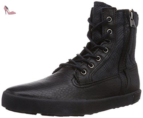 Blackstone P. Sneaker Brogue, Chaussures Montantes - Noir, 37 EU -  Chaussures blackstone