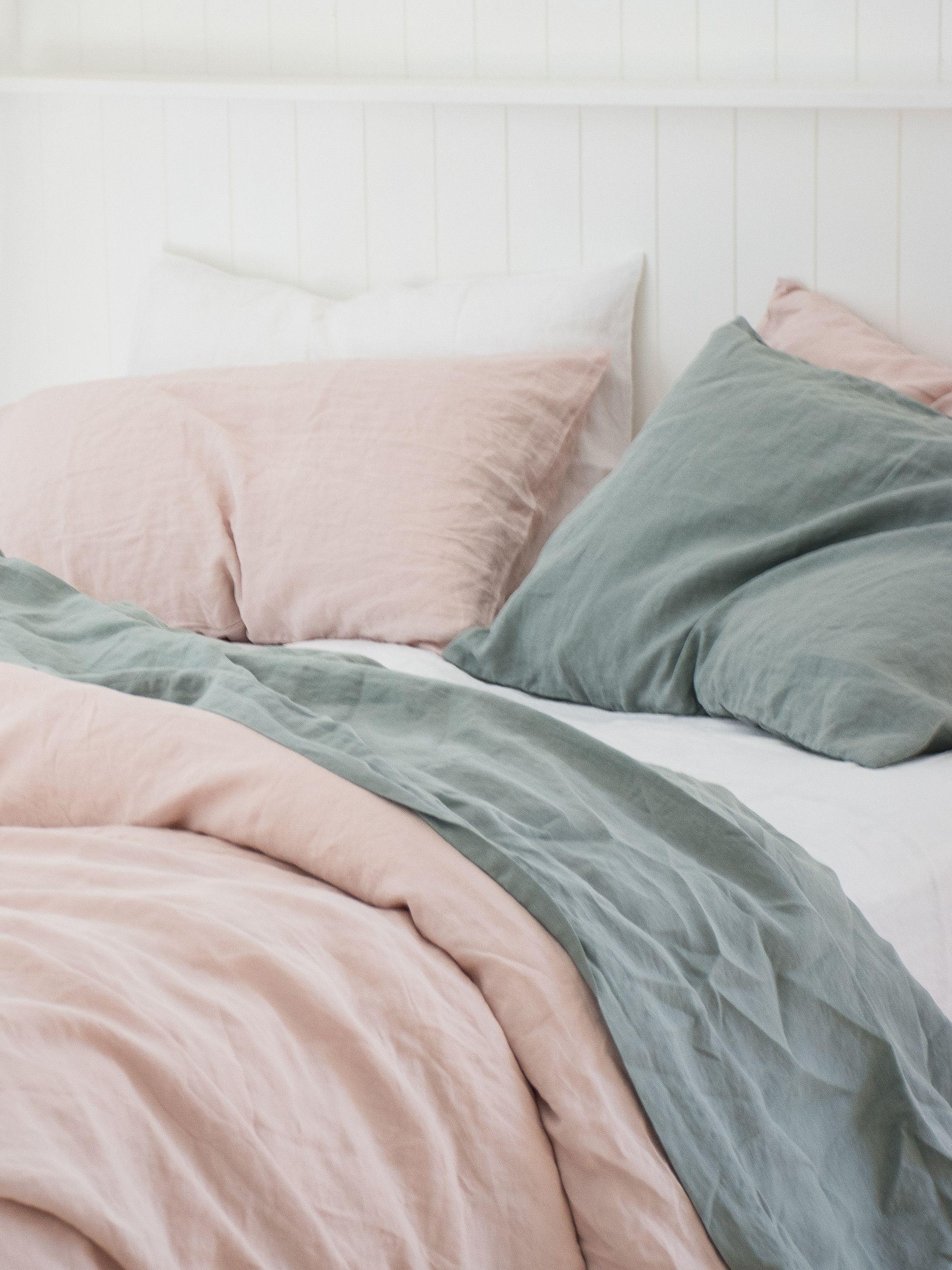 Serene Sage Calming Home Decor Green Aesthetic Interior Design Sage Green Bedroom Bedroom Green Aesthetic Bedroom
